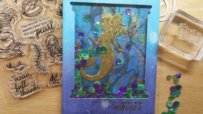 Glittery Mermaid